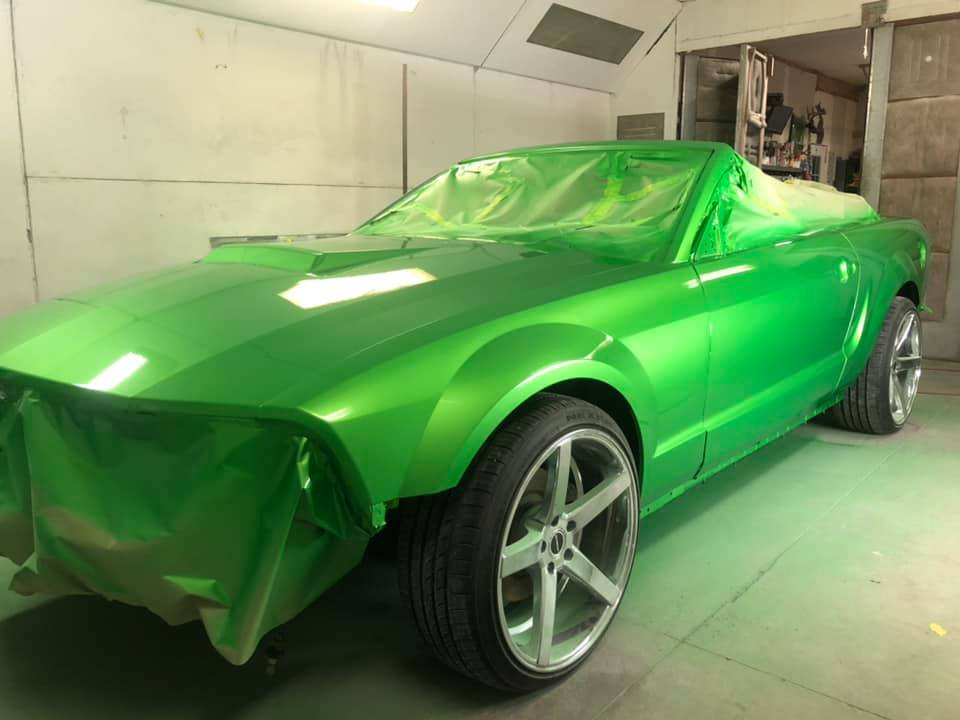 Arrow Hydro-Dip powered by Platinum Auto Body repair
