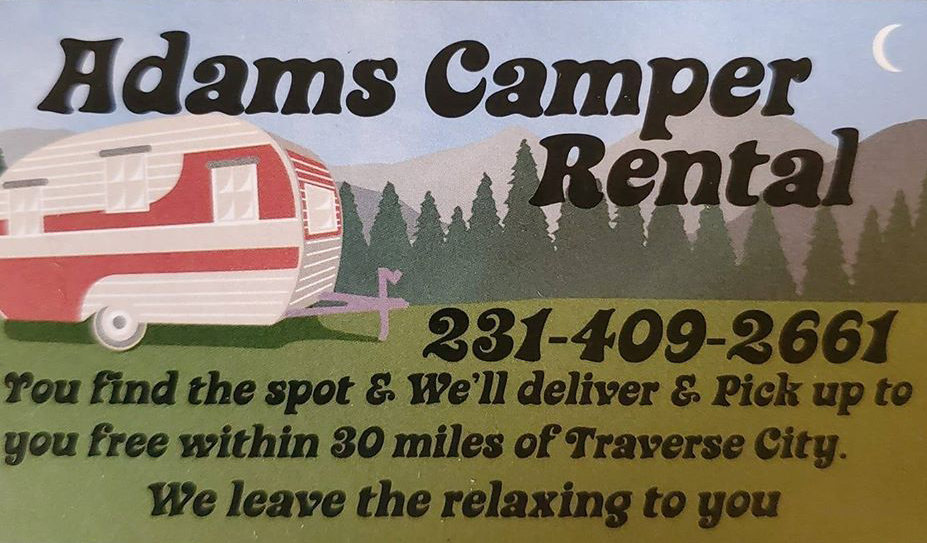 Adams camper rental