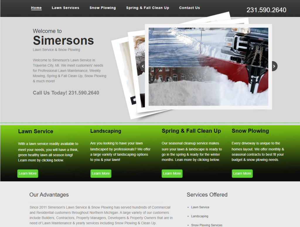 simersons lawn tc screen shot